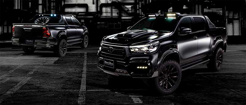 toyota hilux wald sports line black bison edition